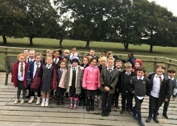 Year 2  trip to the British Wildlife Centre