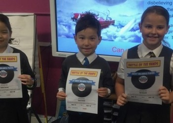 Winners of Year 4 Times Table Rock Stars