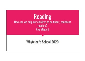 KS2 Parent Reading Workshop
