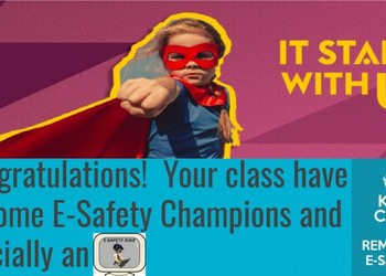 Whyteleafe E-Safety Champions!